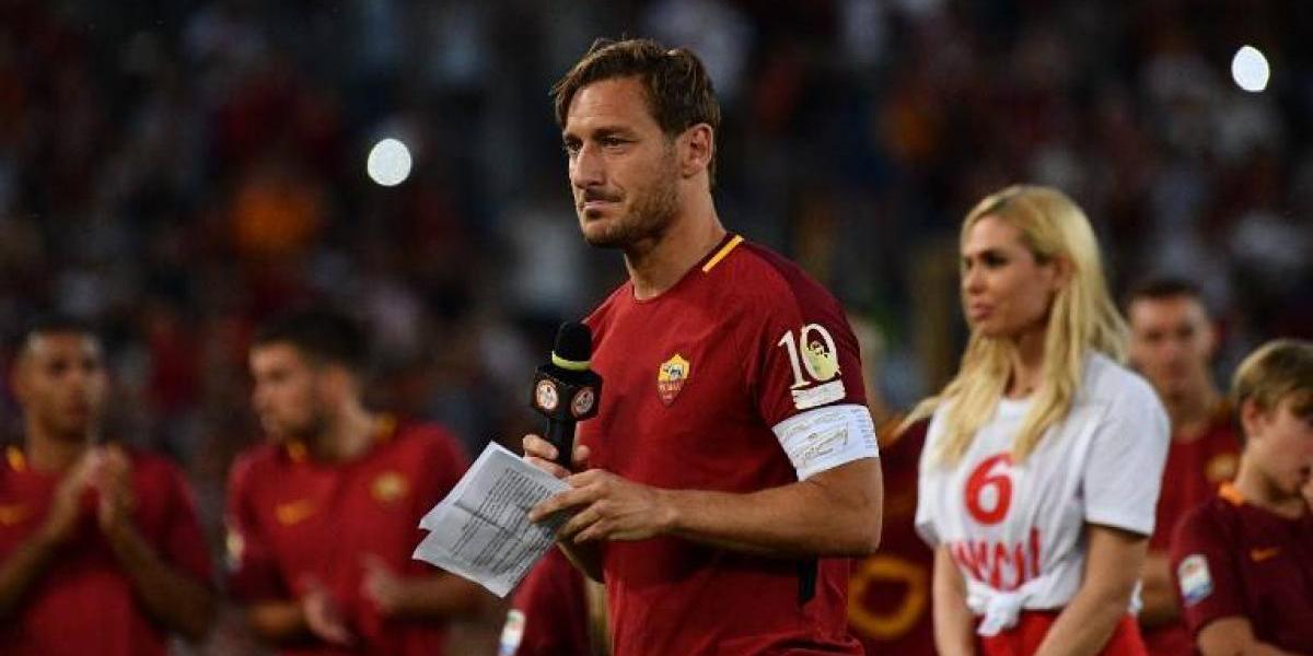 El fútbol japonés quiere impedir el retiro del veterano Francesco Totti