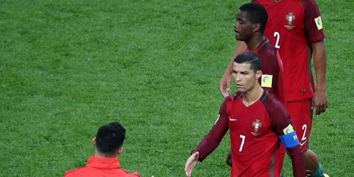 Cristiano Ronaldo se va de Rusia tras perder la semifinal con Chile