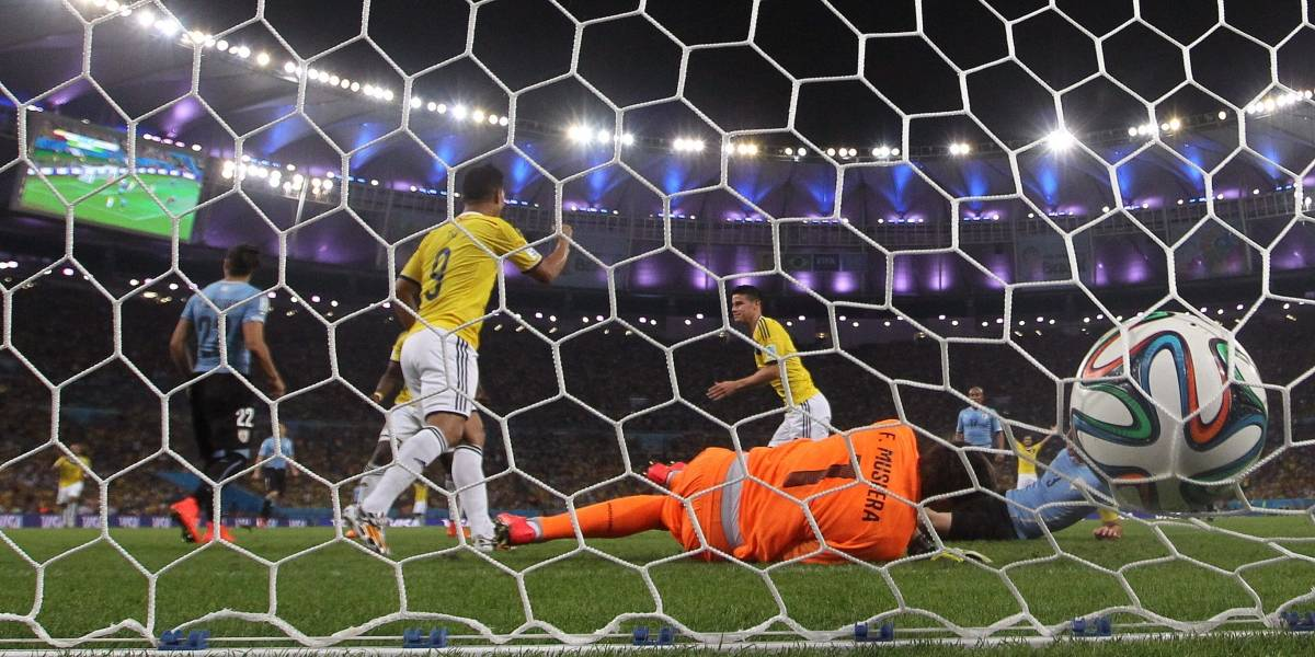 Tres años después, el mundo recuerda el gol de James a Uruguay