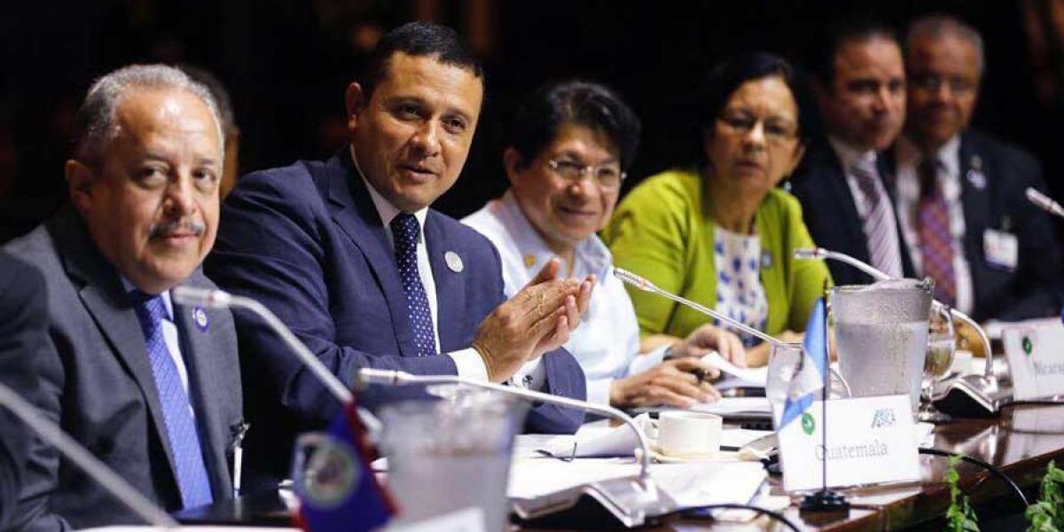 Canciller de Guatemala participa en la LXX Reunión del Consejo de Ministros de Relaciones Exteriores del SICA