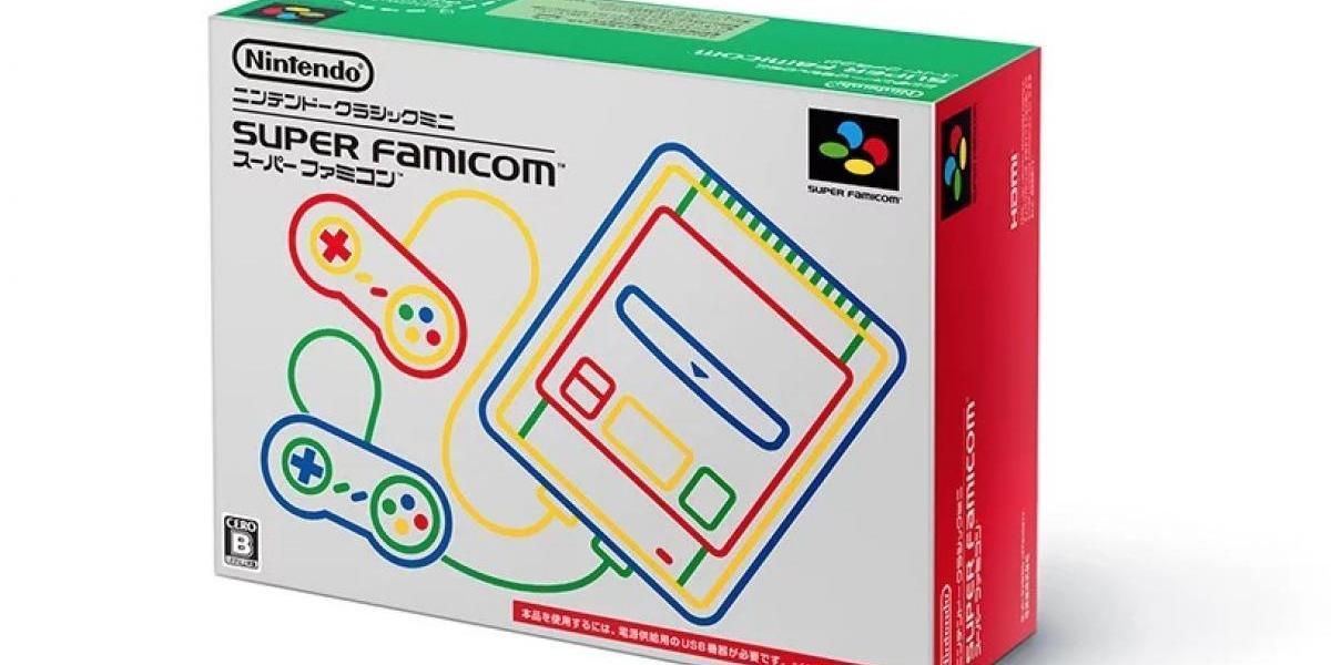 Nintendo anuncia Classic Mini: Super Famicom para Japón