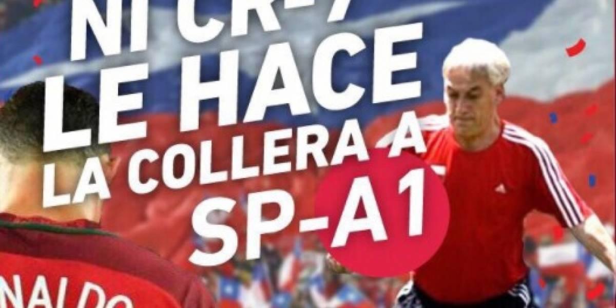 RN se suma a la fiebre por la Copa Confederaciones con particular campaña pro Piñera