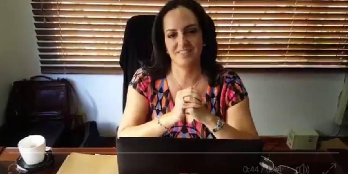 El deseo de María Fernanda Cabal: cambiar las leyes por los 10 mandamientos