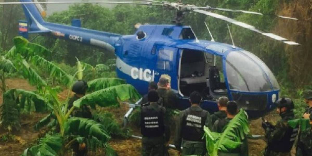 Hallan el helicóptero que fue usado para atacar la sede de Supremo venezolano