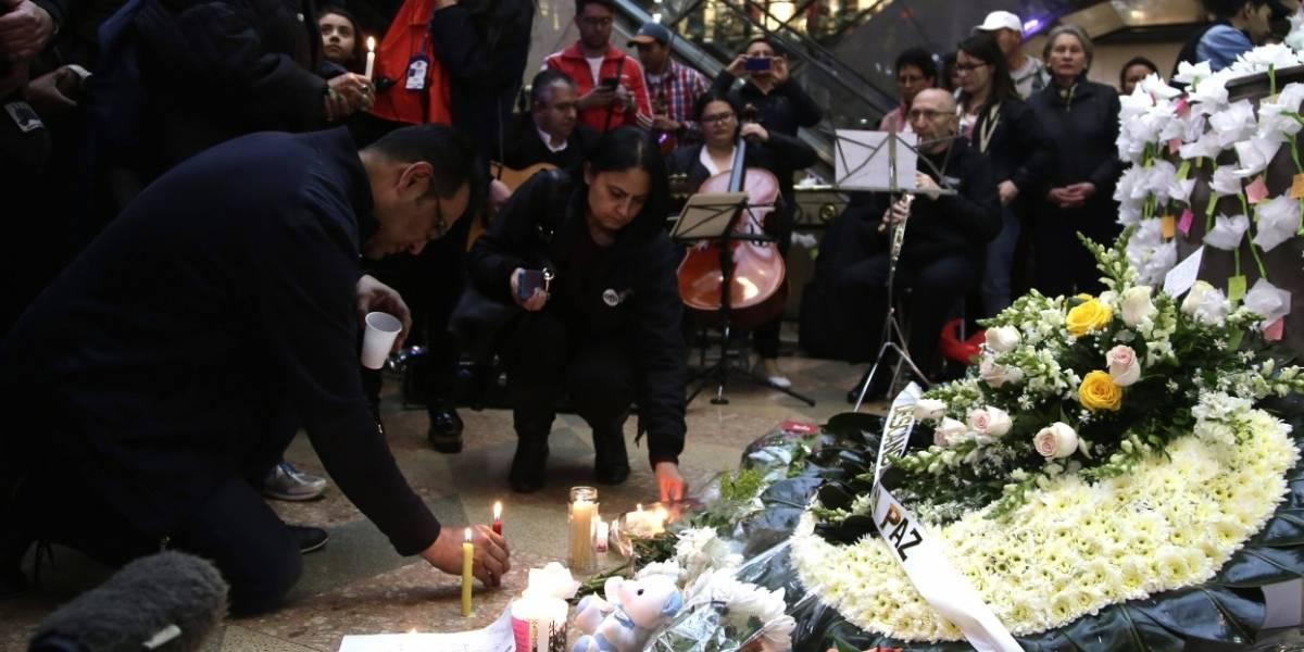Revelan video del momento exacto de la explosión en el Andino
