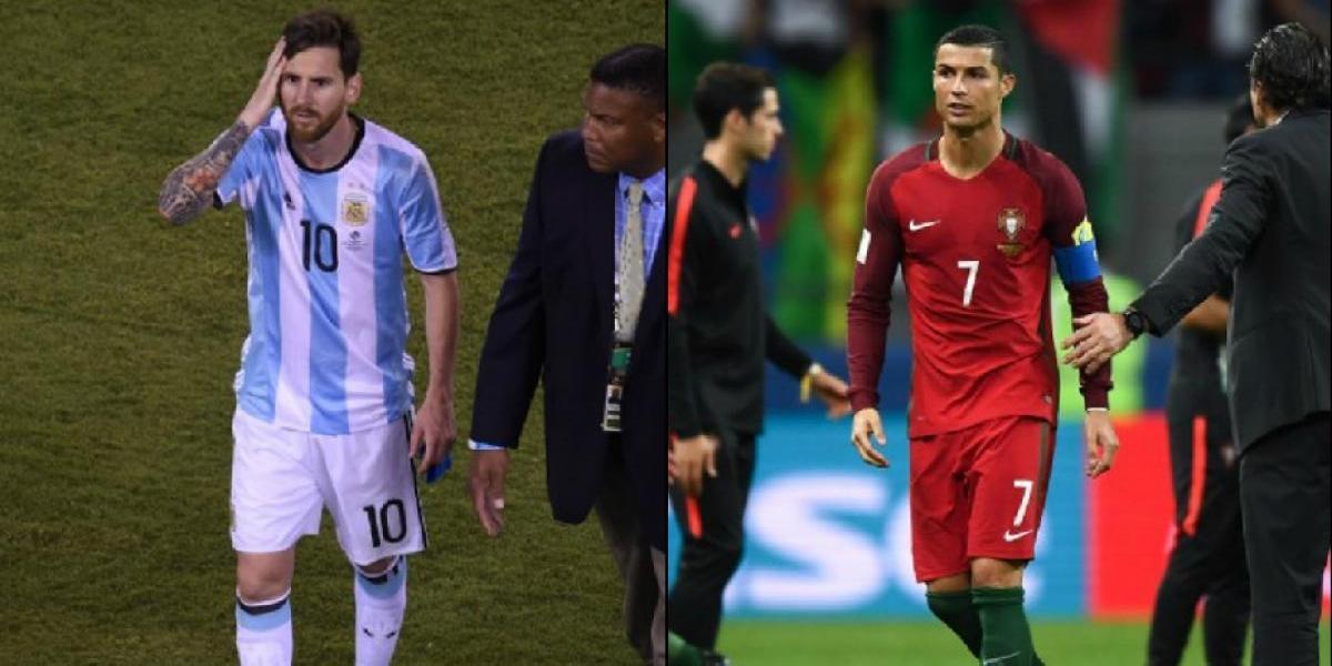 Ni Messi ni Cristiano pueden en definiciones con la Generación Dorada de la Roja