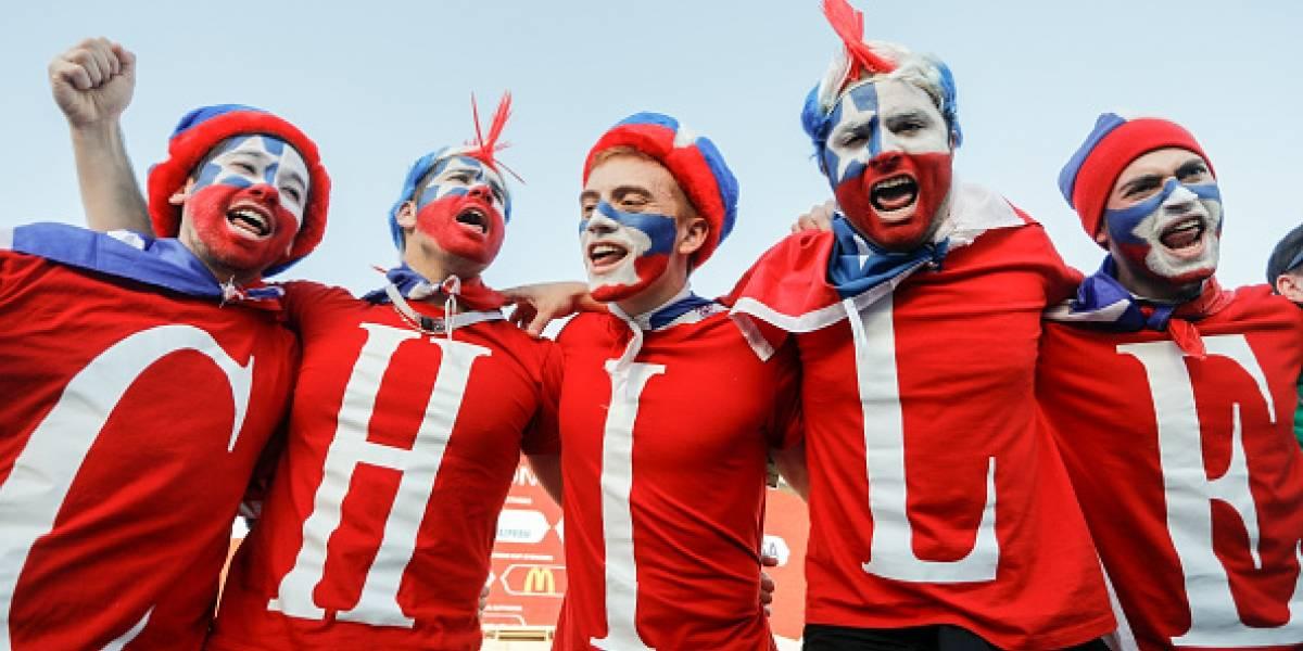 Aficionados chilenos quieren a México en la Final 'para meterle cuatro'