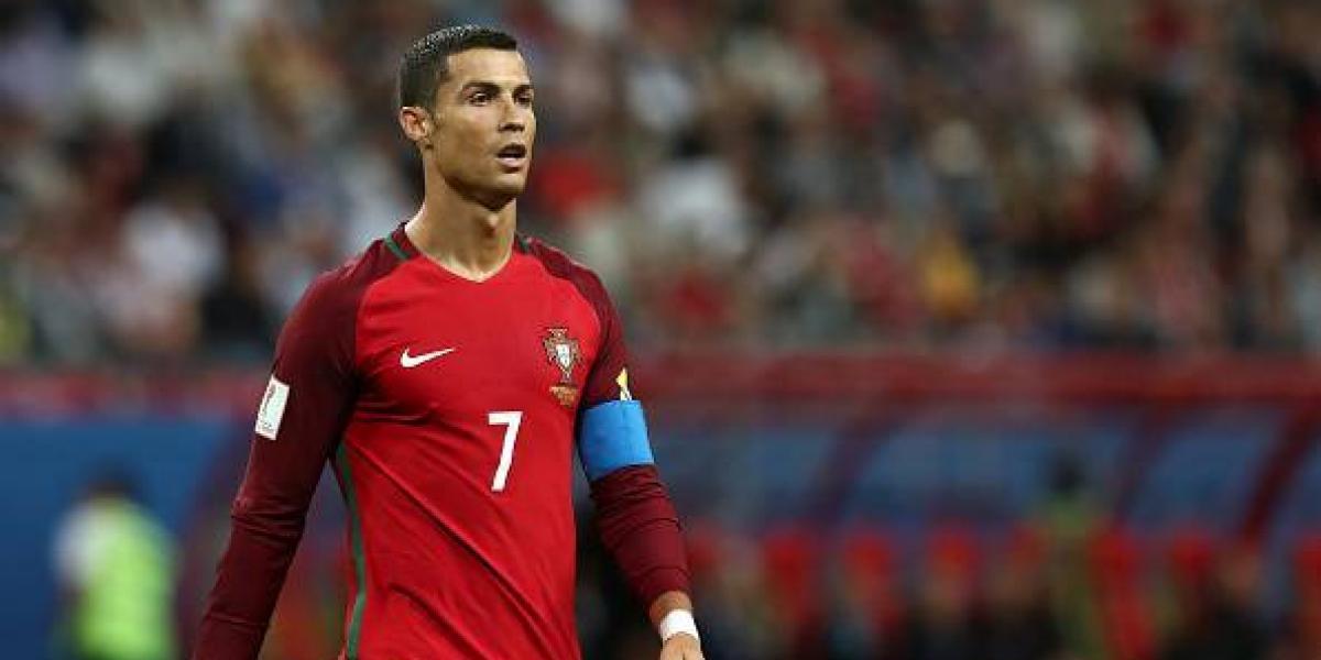 Cristiano Ronaldo se retira de la Copa Confederaciones