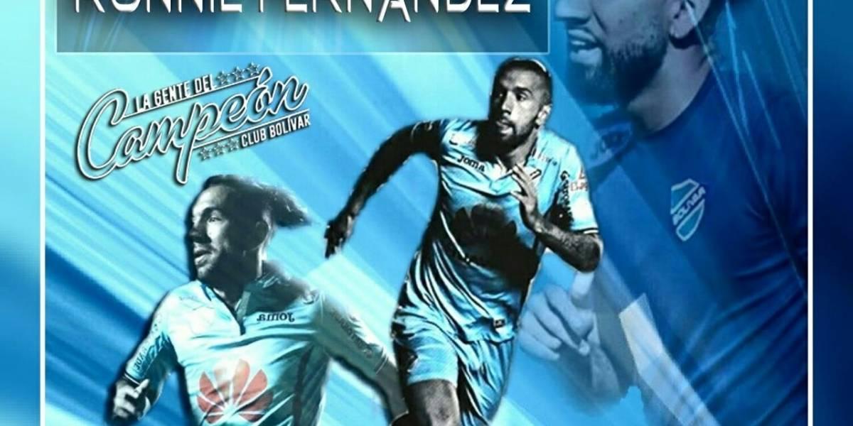 Ronnie Fernández parte por 2 millones de dólares al fútbol de Medio Oriente