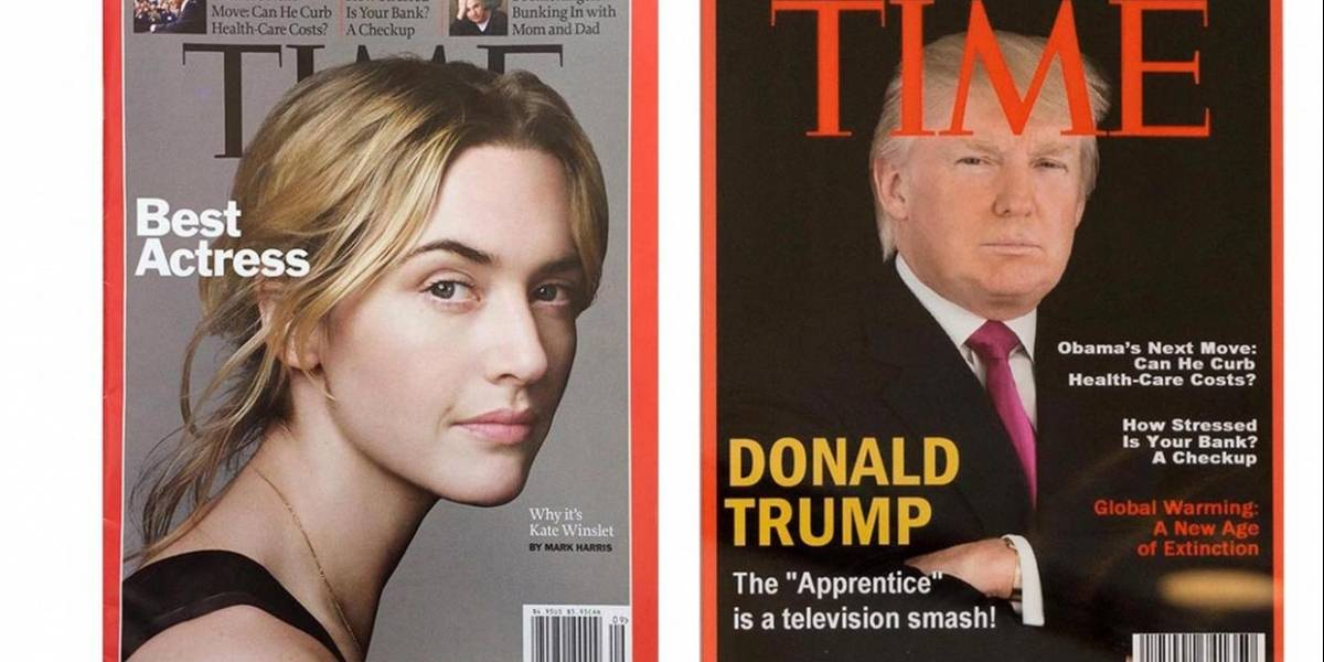 Trump exhibe portadas falsas de la revista Time en sus clubes de golf