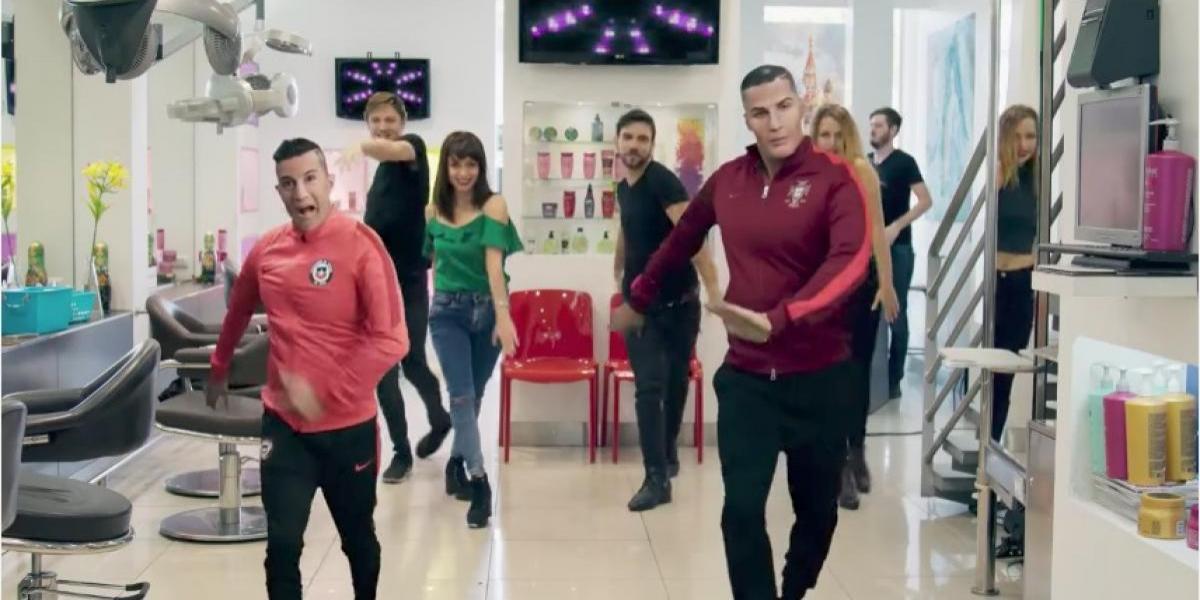 """VIDEO. La canción Despacito mueve """"Cristiano"""" y a """"Alexis"""""""