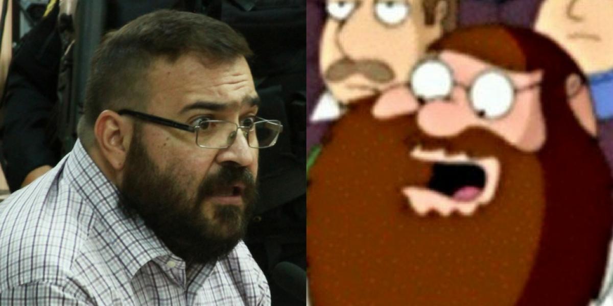 El nuevo look de Javier Duarte también desató una serie de memes