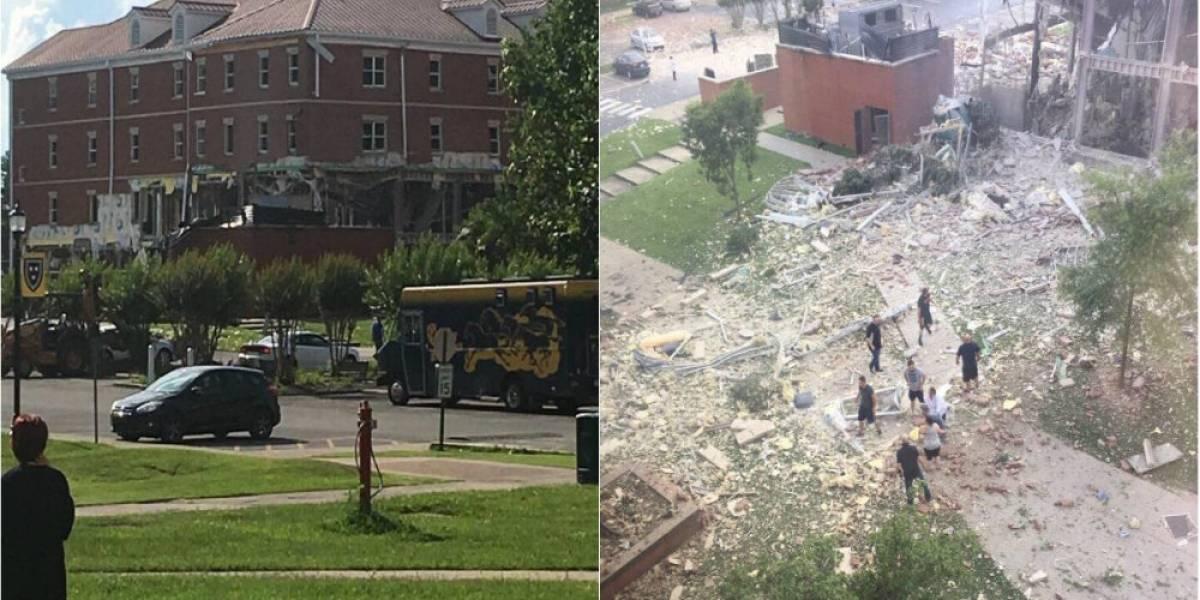 Al menos un herido deja explosión en Universidad de Kentucky