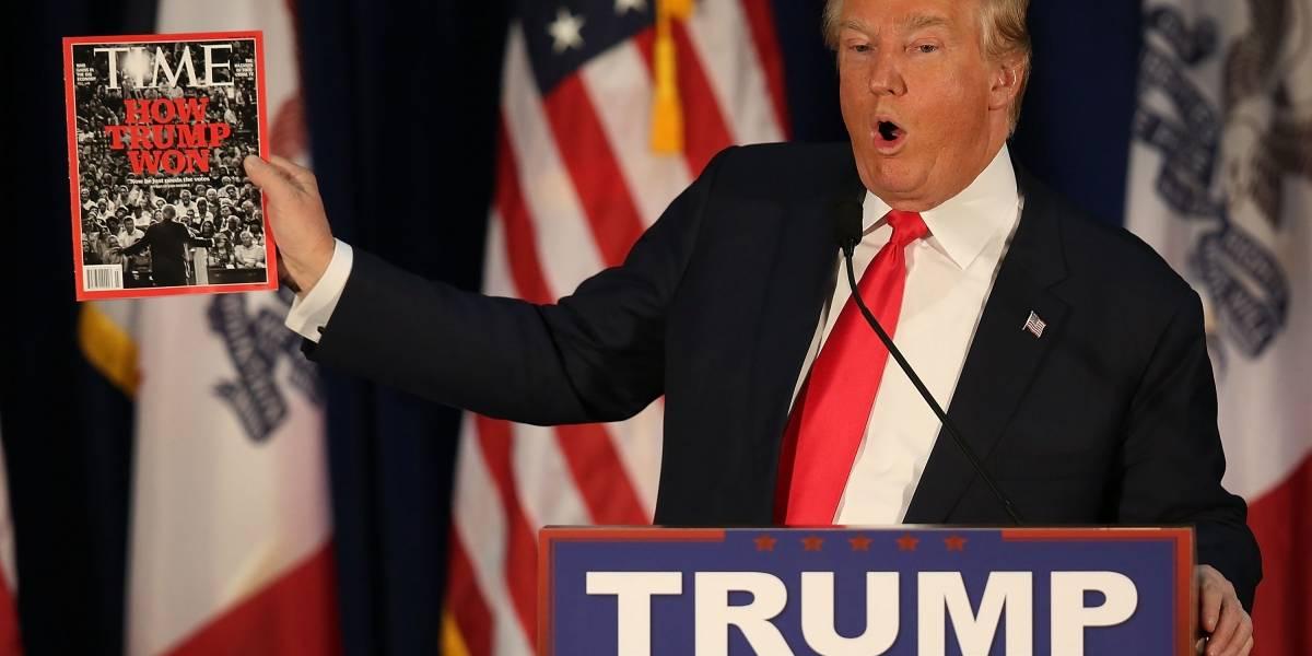 Revista Time pide a la Trump Organization retirar portadas falsas de sus clubs