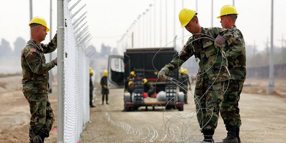 Aprueban 10 mmdd para la construcción del muro fronterizo EU-México