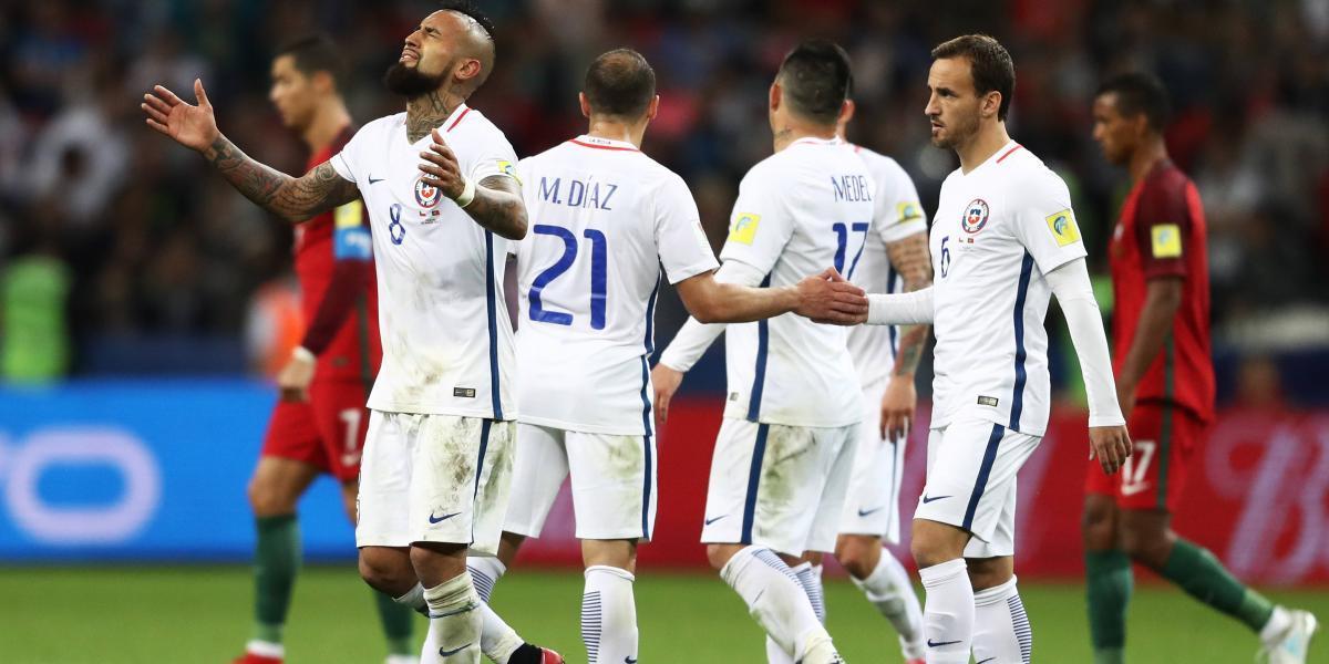 Chile elimina a Portugal en penales y avanza a la final de Confederaciones
