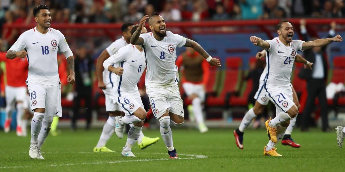 Chile supera a Portugal y pasa a final de Copa Confederaciones