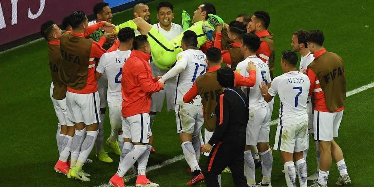Chile elimina a CR7 y Portugal en penales y avanza a la final de Confederaciones