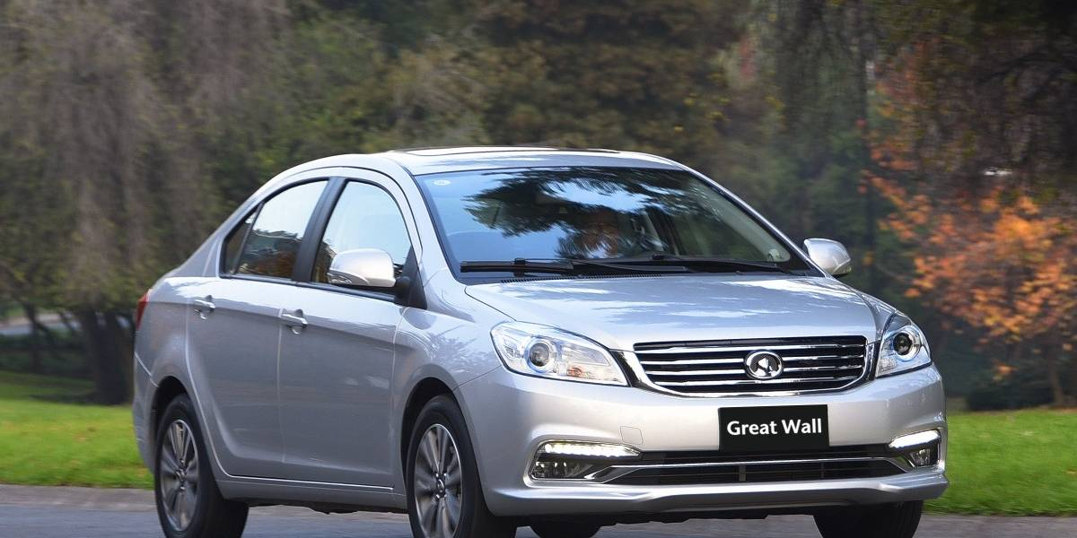 C30 Plus, un facelift completo del sedán de Great Wall