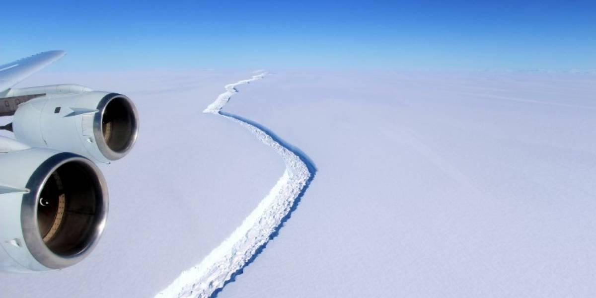 Científicos advierten por inminente evento que cambiará para siempre el paisaje de la Antártica