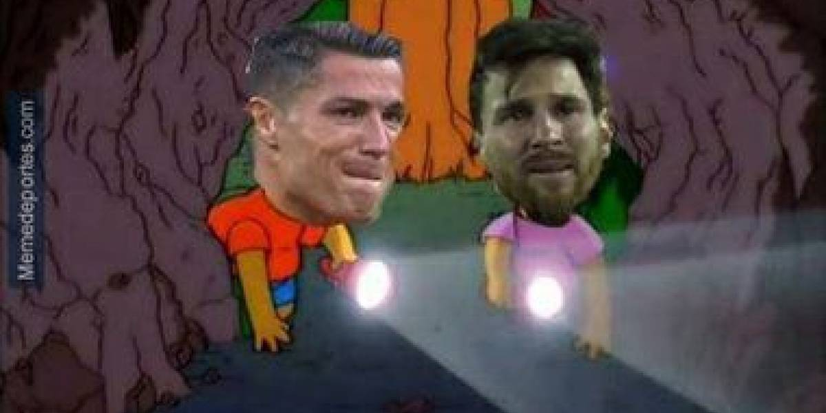 Con Cristiano Ronaldo en el medio de las bromas, estos fueron los memes que dejó el partido entre Chile y Portugal