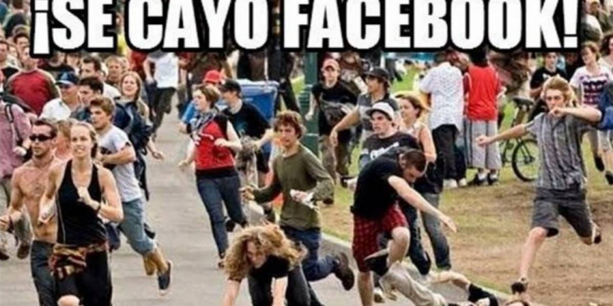 Facebook presenta una falla mundial y los usuarios responden con memes