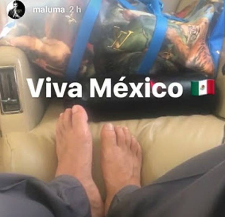 Pies de Maluma