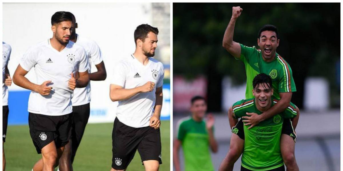 Alemania y México prometen un duelo de intensas emociones