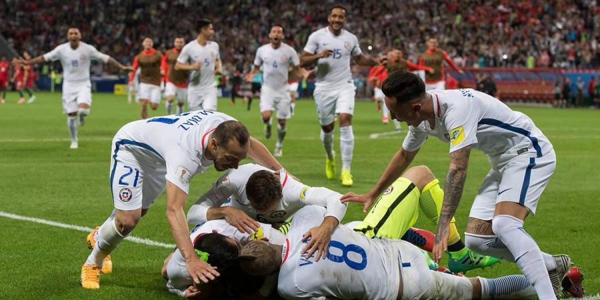 Chile histórico: jugará su primera final en un torneo de fútbol mundial