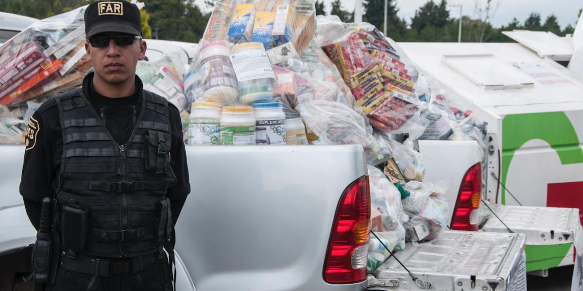 Robo y venta ilegal de medicamentos deja 8 mil mdp anuales