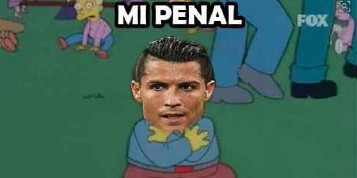 Los memes de la eliminación de Cristiano y Portugal