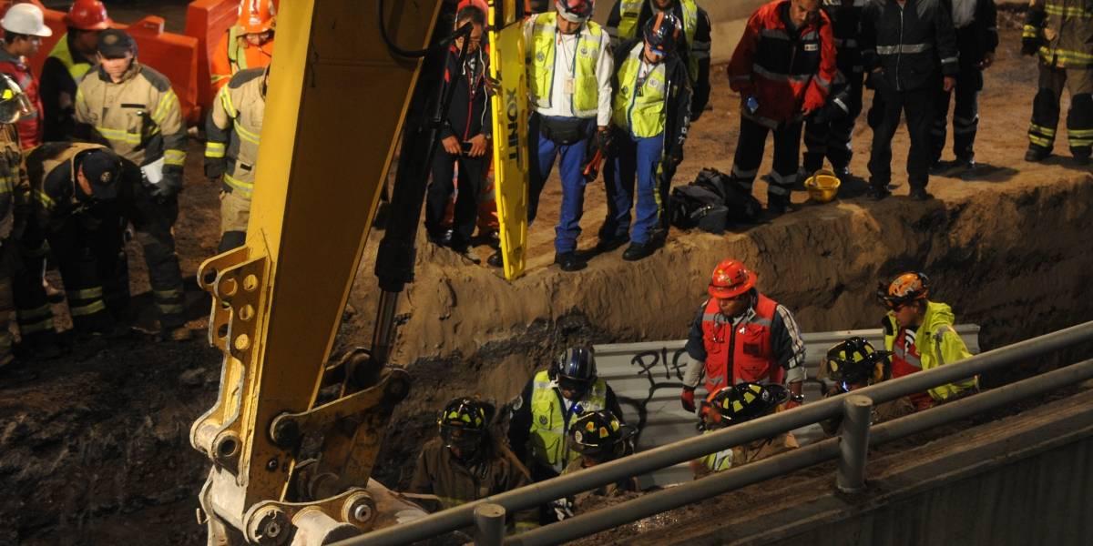 Muere trabajador al derrumbarse obra de Línea 12 del Metro
