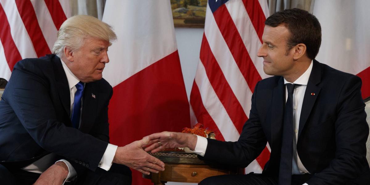 Trump asistirá al desfile por el Día de la Bastilla en Francia