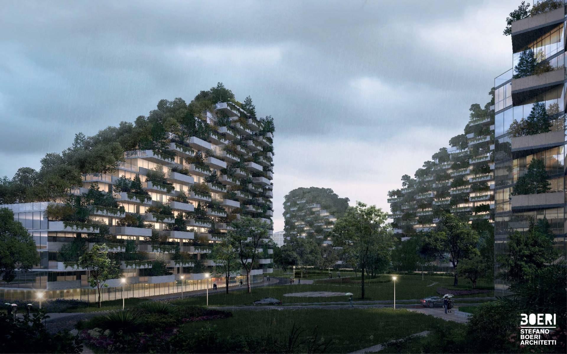 La ciudad bosque de Liuzhou.
