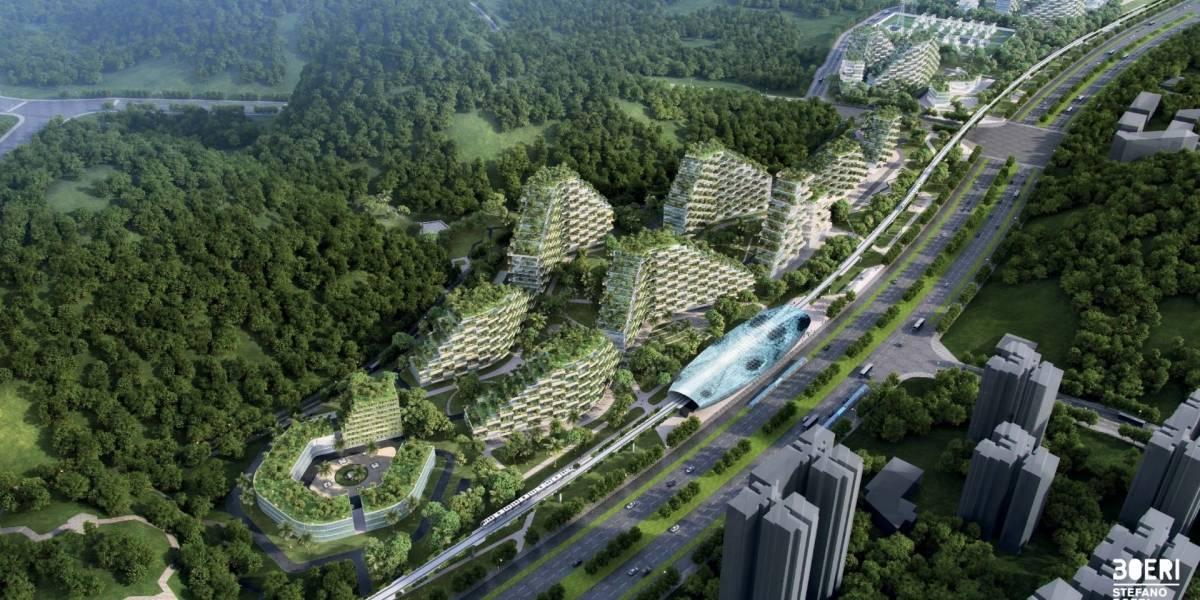 """China busca combatir la contaminación con una """"ciudad bosque"""""""