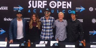 México se prepara para el Surf Open Acapulco