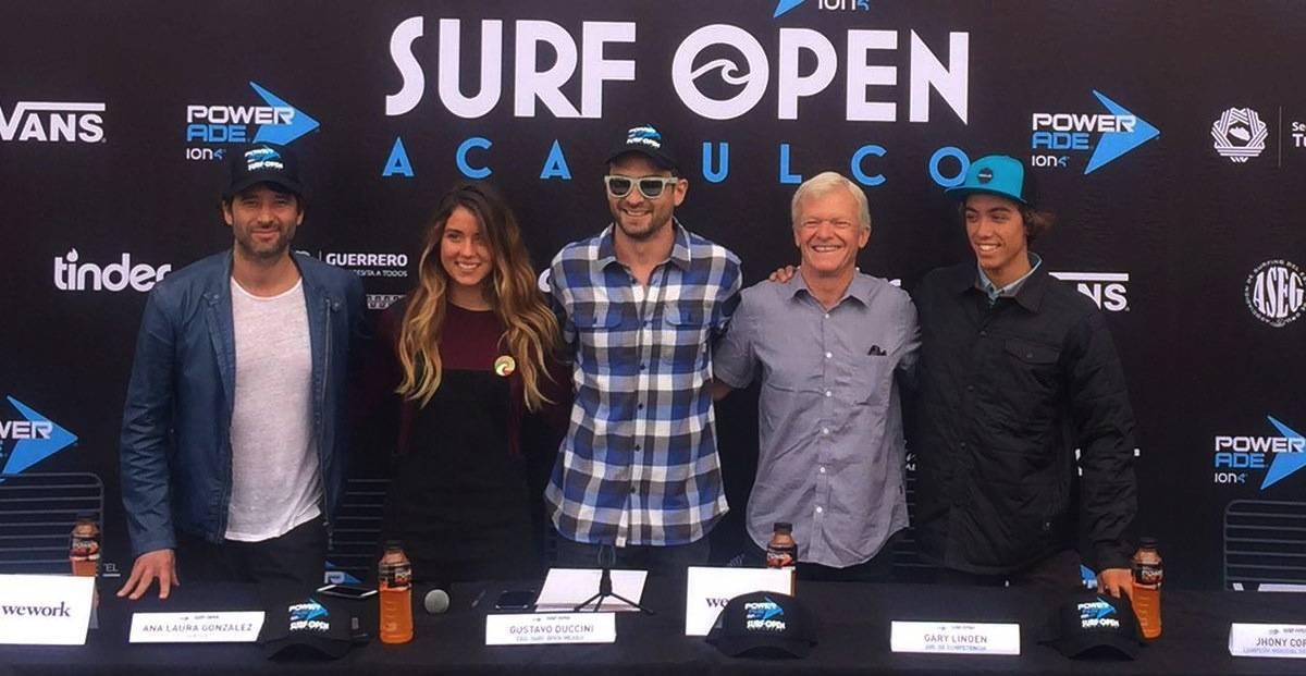 VANIA GUILLÉN México se prepara para el Surf Open Acapulco