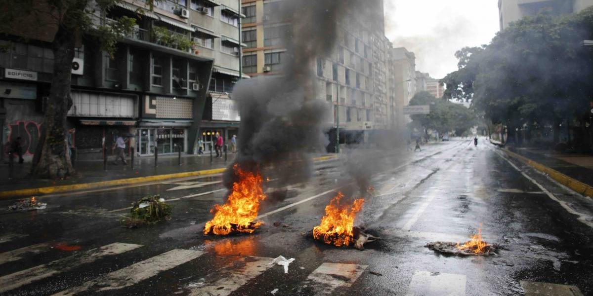 Violenta jornada electoral en Venezuela