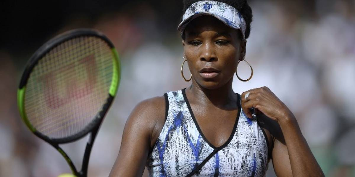 Venus Williams es investigada por presunto accidente de transito que terminó con un fallecido
