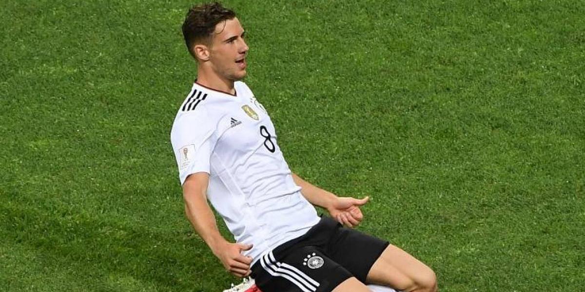 Minuto a minuto: Alemania goleó a México y jugará la final de Confederaciones con la Roja