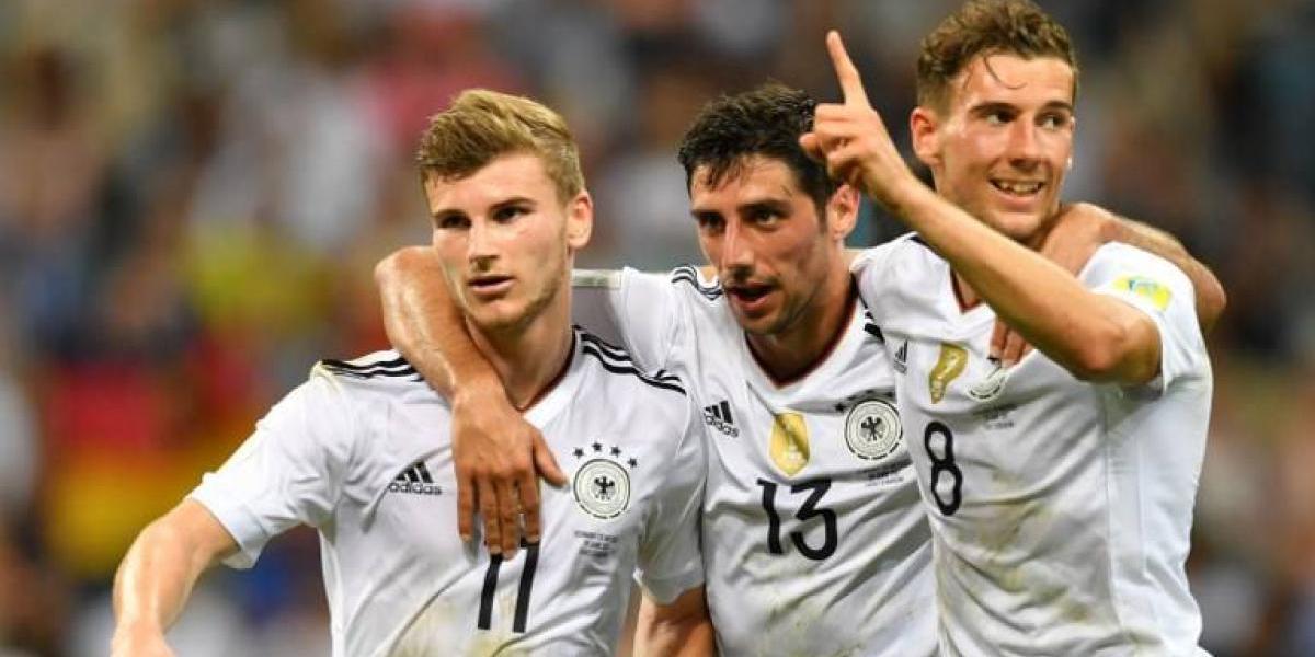 Alemania mostró su poderío para eliminar a México y se reencontrará con Chile en la final