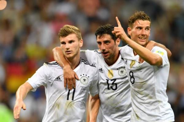 Werner, Stindl y Goretzka, amenazas de gol de Alemania / AFP
