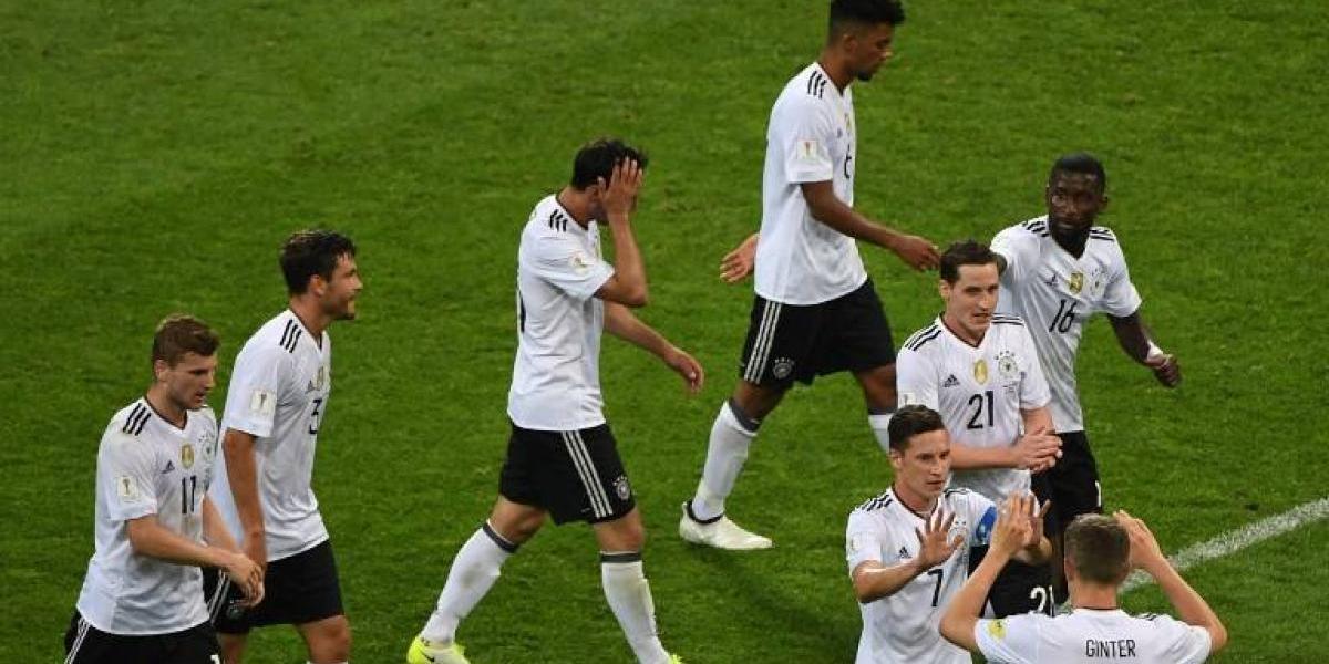 """En Alemania ya preparan la batalla ante la """"estrella"""" Vidal en la Confederaciones"""