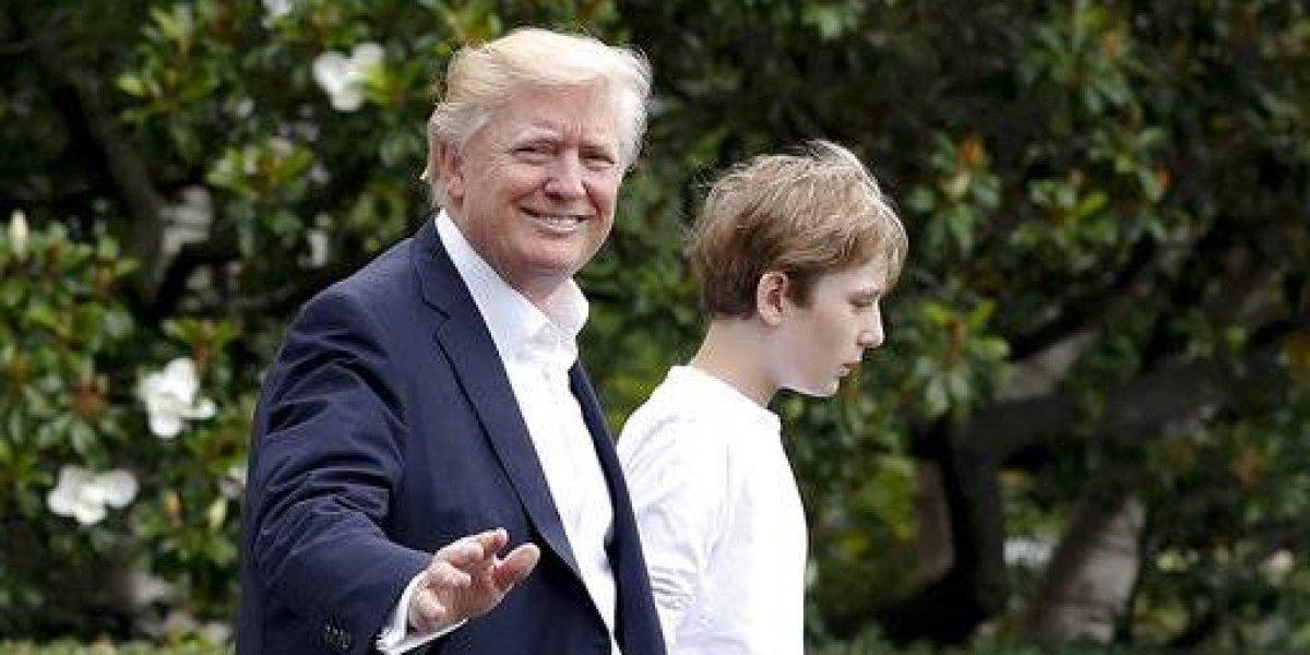Escuela de hijo menor de Trump exige control de armas