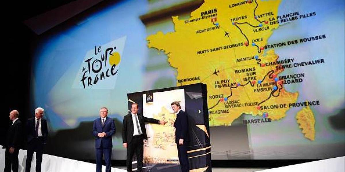 Estas serán las etapas del Tour de Francia 2017