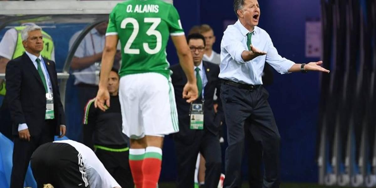 México de Osorio cayó goleado 4-1 por Alemania en Confederaciones