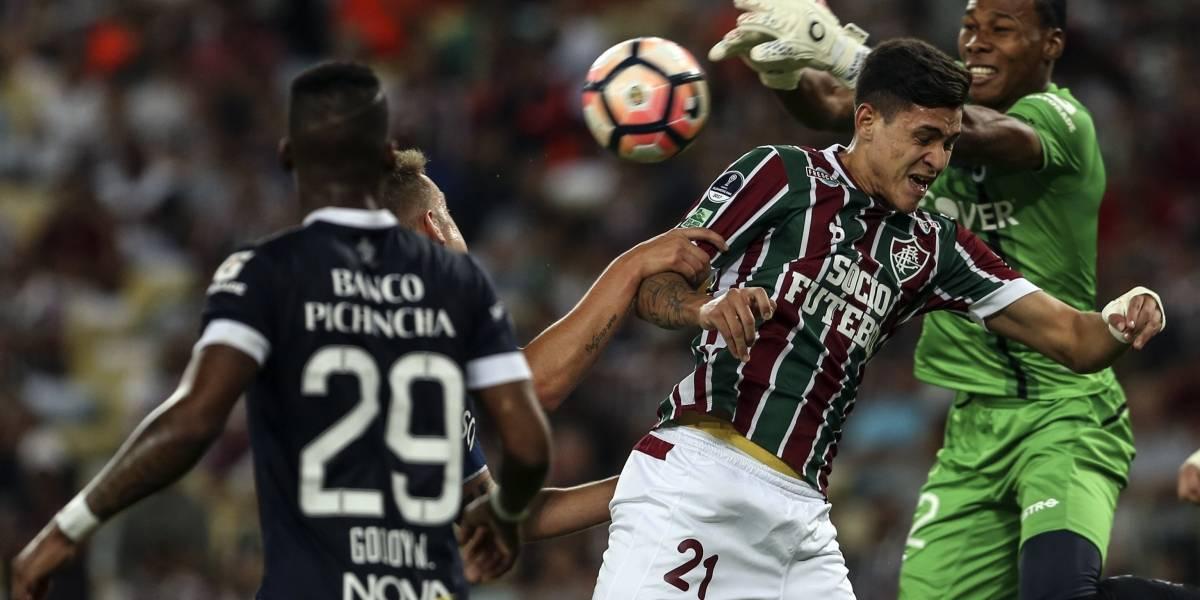 Liga de Quito y Fluminense, por billete a cuartos de final de la Copa Sudamericana