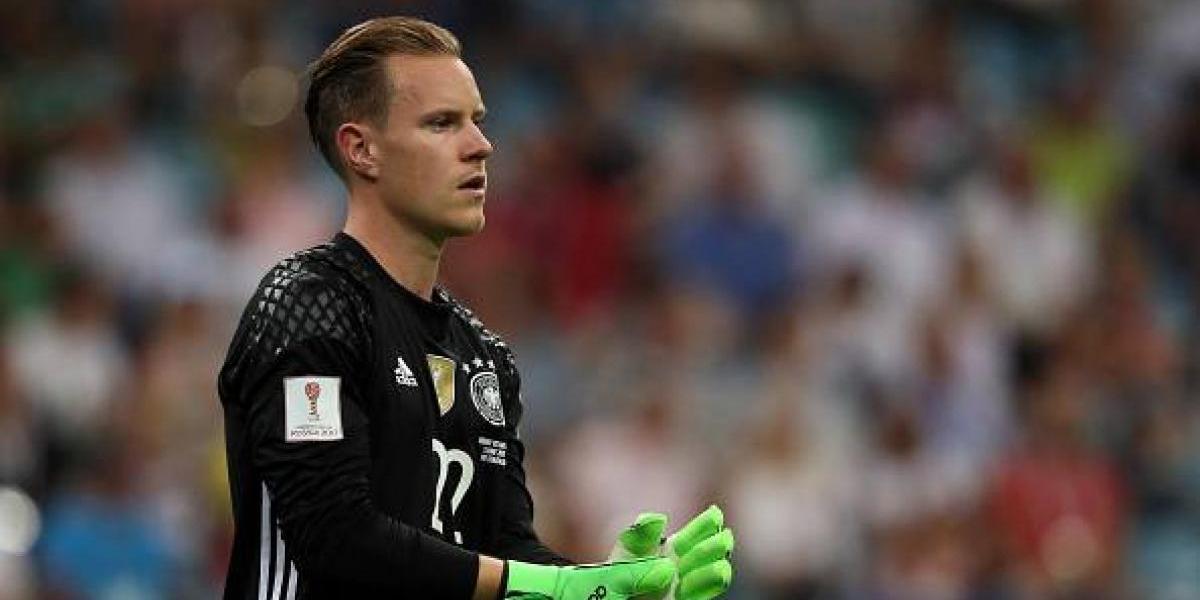 """Ter Stegen le tira la responsabilidad a la Roja: """"Ellos son claramente favoritos, pero podemos ganar"""""""