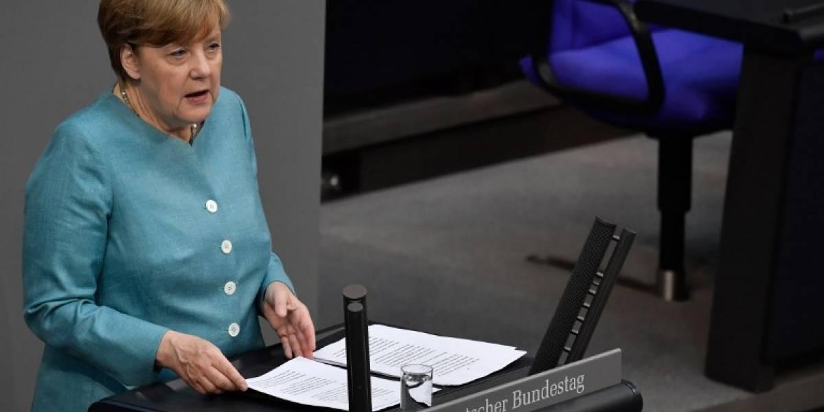 Merkel se ensaña con Trump antes de la cumbre del G20
