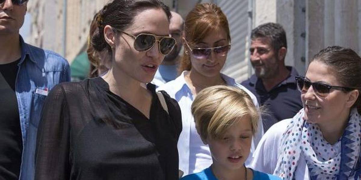 Aseguraron que hija de Angelina Jolie y Brad Pitt inició tratamiento de cambio de sexo y cómo quería llamarse